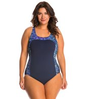 EQ Swimwear Plus Size Grace One Piece Swimsuit