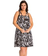 Dotti Plus Size Wailea Escape A-Line Dress