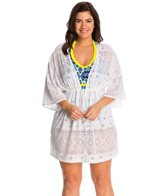 Dotti Plus Size Tribal Times Kimono Cover Up Tunic