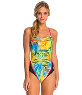 MP Michael Phelps Selaron Racerback One Piece Swimsuit