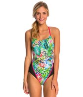 MP Michael Phelps Flores Racerback One Piece Swimsuit