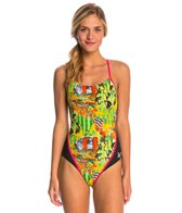 MP Michael Phelps Jongo Racerback One Piece Swimsuit