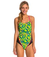 MP Michael Phelps Carimbo Racerback One Piece Swimsuit