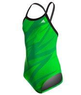 Adidas Youth Shock Energy Vortex Back One Piece Swimsuit