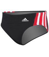Adidas Youth Solid Splice Brief Swimsuit