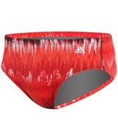 Adidas Men's Graphic Stripe Brief Swimsuit