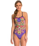 Triflare Women's IndiBindi Open Back One Piece Swimsuit
