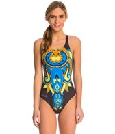 Triflare Women's Bindi Fire Bladeback One Piece Swimsuit