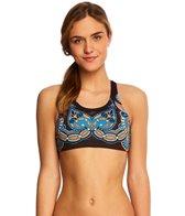Triflare Women's Bindi Ink Sport Bikini Top