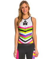Betty Designs Women's Chevron Triathlon Top
