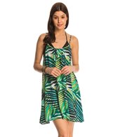 Roxy Windy Fly Away Dreamin' Florida Cover Up Dress