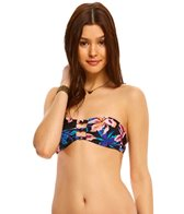 Roxy Dreamin' Florida Knotted Bandeau Bikini Top