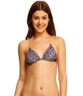 Roxy Boho Reversible Tiki Triangle Bikini Top