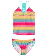 Raisins Girls' Opposites Attract Beach Tankini Two Piece Bikini Set (7yrs-16yrs)