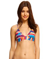 Roxy Dry Wind Strappy Fixed Triangle Bikini Top
