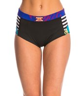Roxy Pop Surf Polynesia High Waist Bikini Bottom