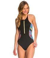 Roxy Pop Surf Polynesia One Piece Swimsuit