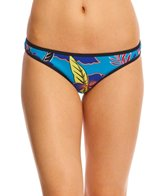 Roxy Pop Surf Polynesia Surfer Print Bikini Bottom