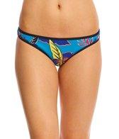 Roxy Pop Surf Polynesia Surfer Print Bikini Bottom