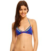 Roxy Pop Surf Polynesia Mix Triangle Bikini Top