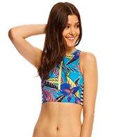 Roxy Polynesia Crop Tank Bikini Top