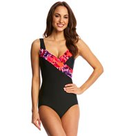 T.H.E Picasso Mastectomy Surplice One Piece Swimsuit