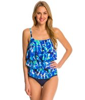 Topanga Mastectomy Summer Breeze Triple Tier Tankini Top