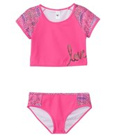 Limeapple Swimwear Girls' Los Cabos Love Tankini Set (7yrs-16yrs)
