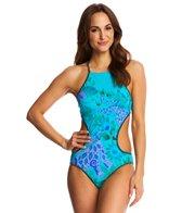 Nanette Lepore Jakarta Jaguar Reversible Goddess Monokini Swimsuit