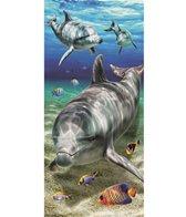 dohler USA Brightness Dolphins Beach Towel 30'' x 60''