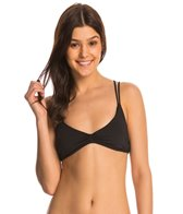 Quintsoul Swimwear Solid Essentials Crossback Halter Bikini Top