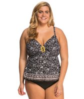 Coco Reef Plus Size Sahara Twist Tankini Top