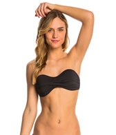 Eidon Solid Willow Twist Bandeau Top