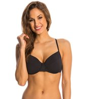 Eidon Solid Piper Underwire D/DD Cup Bra Top