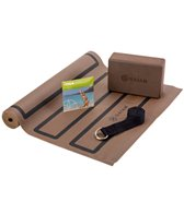 Gaiam Yoga Beginners Kit - Cocoa