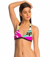 FOX Divizion Fixed Halter Bikini Top