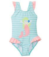 Hula Star Girls' Mermaid One Piece Swimsuit (2T-6X)