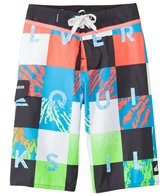 Quiksilver Boys' Check Remix Boardshort (8yrs-20yrs)