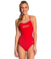 Dolfin Lifeguard DBX Back One Piece Swimsuit