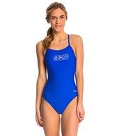 Dolfin Lifeguard V-2 Back One Piece Swimsuit
