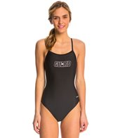 Dolfin Lifeguard V-2 Back One Piece Swimsuit