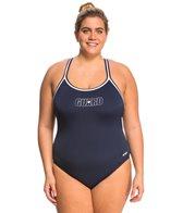 Dolfin Lifeguard Plus Size DBX Back One Piece Swimsuit