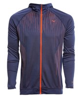 Mizuno Men's Breathe Thermo Double Knit Full Zip Hoody