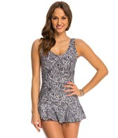 Ceeb Rattan Twist Top Swimdress