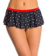 Tommy Hilfiger Swimwear Skylar Dot Flare Skirted Bottom
