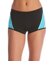 Tommy Hilfiger Swimwear Scuba Colorblock Boyshort Bikini Bottom