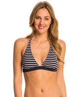 Tommy Hilfiger Swimwear Sailing Stripes Halter Bra Bikini Top