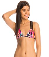 B.Swim Tropix Le Flip Reversible Triangle Bikini Top