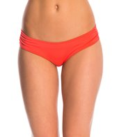 B.Swim Solid Sassy Pant Bikini Bottom