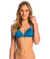 B.Swim Solid Coco Halter Bikini Top